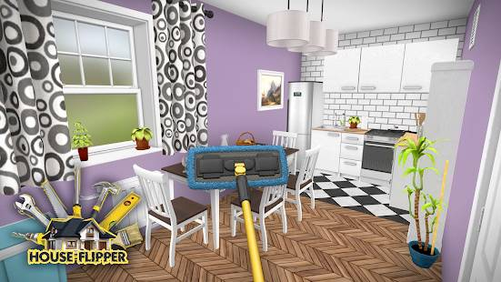 Descarga House Flipper Home Design, Renovation Games con Dinero Infinito y Elementos DLC Desbloqueados para Android Gratis  2