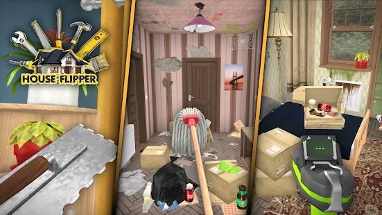 Descarga House Flipper Home Design, Renovation Games con Dinero Infinito y Elementos DLC Desbloqueados para Android Gratis  3