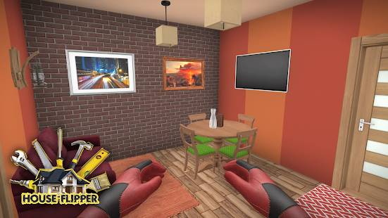 Descarga House Flipper Home Design, Renovation Games con Dinero Infinito y Elementos DLC Desbloqueados para Android Gratis  4