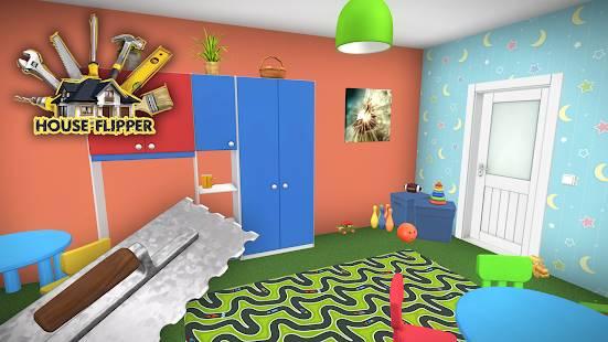 Descarga House Flipper Home Design, Renovation Games con Dinero Infinito y Elementos DLC Desbloqueados para Android Gratis  6