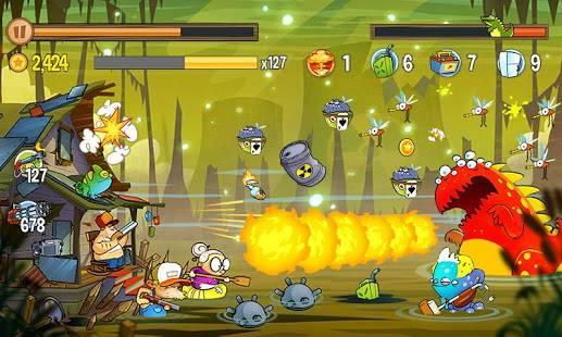 Descarga Swamp Attack MOD APK con Dinero y Energía infinita para Android Gratis 4