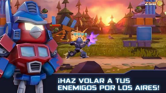 Descarga Angry Birds Transformers MOD APK con Dinero Infinito para Android Gratis