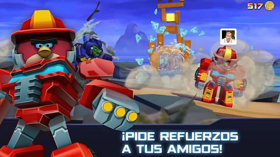 Descarga Angry Birds Transformers MOD APK con Dinero Infinito para Android Gratis 3