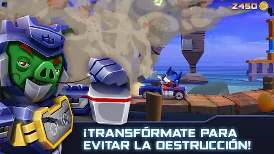 Descarga Angry Birds Transformers MOD APK con Dinero Infinito para Android Gratis 4