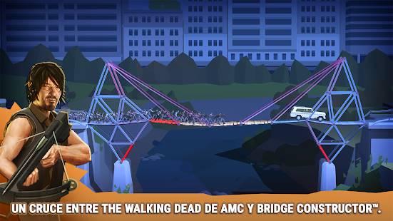 Descarga Bridge Constructor The Walking Dead MOD APK Desbloqueado para Android Gratis
