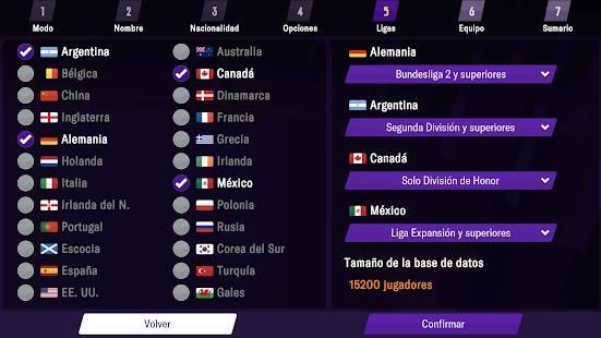 Descarga Football Manager 2021 Mobile MOD APK Desbloqueado para Android Gratis 2