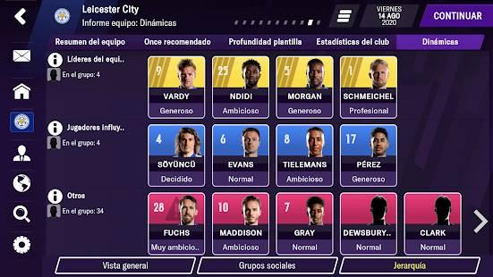 Descarga Football Manager 2021 Mobile MOD APK Desbloqueado para Android Gratis 4