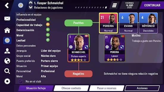 Descarga Football Manager 2021 Mobile MOD APK Desbloqueado para Android Gratis 5