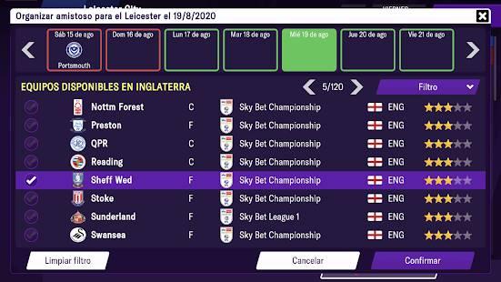 Descarga Football Manager 2021 Mobile MOD APK Desbloqueado para Android Gratis 7