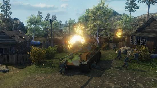 Descarga Ghosts of War WW2 Shooting games MOD APK con Munición Infinita para Android Gratis 3
