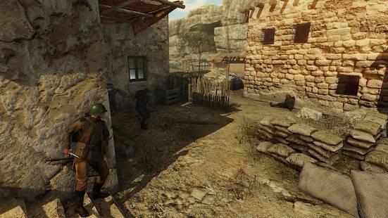 Descarga Ghosts of War WW2 Shooting games MOD APK con Munición Infinita para Android Gratis 5