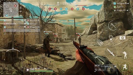 Descarga Ghosts of War WW2 Shooting games MOD APK con Munición Infinita para Android Gratis 6