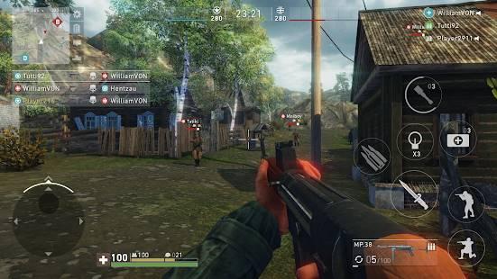 Descarga Ghosts of War WW2 Shooting games MOD APK con Munición Infinita para Android Gratis 7