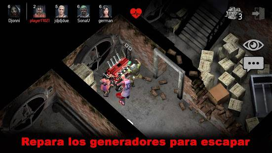 Descarga Horrorfield MOD APK con Hack de Mapa para Android Gratis 3