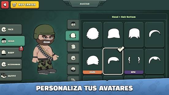 Descarga Mini Militia Doodle Army 2 MOD APK con Granadas Infinitas para Android Gratis 3