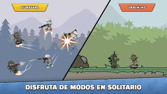 Descarga Mini Militia Doodle Army 2 MOD APK con Granadas Infinitas para Android Gratis 7