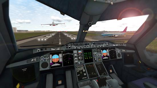 Descarga Real Flight Simulator MOD APK Desbloqueado para Android Gratis 6