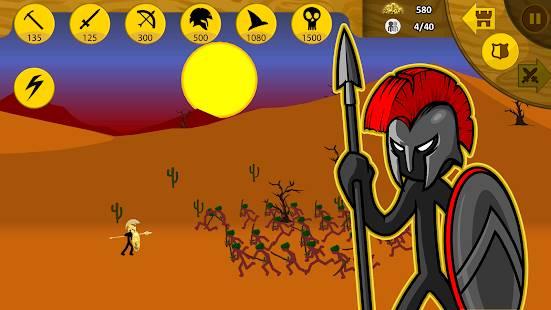 Descarga Stick War: Legacy MOD APK con Gemas Infinitas para Android Gratis