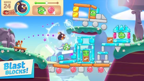 Descarga Angry Birds Journey MOD APK con Vidas Infinitas para Android Gratis
