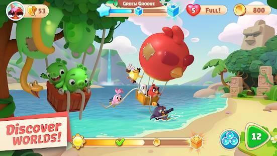 Descarga Angry Birds Journey MOD APK con Vidas Infinitas para Android Gratis 2