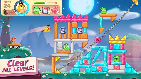 Descarga Angry Birds Journey MOD APK con Vidas Infinitas para Android Gratis 3