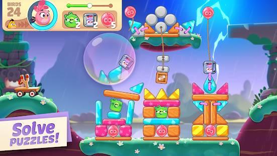 Descarga Angry Birds Journey MOD APK con Vidas Infinitas para Android Gratis 4