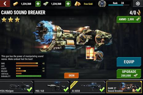 Descarga Dead Target MOD APK con Dinero Infinito para Android Gratis 6