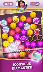 Descarga Diamond Diaries Saga MOD APK con Vidas Infinitas y Panel de trucos para Android Gratis