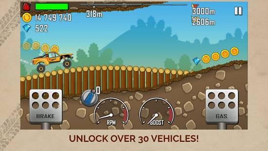 Descarga Hill Climb Racing MOD APK con Dinero Infinito para Android Gratis 2