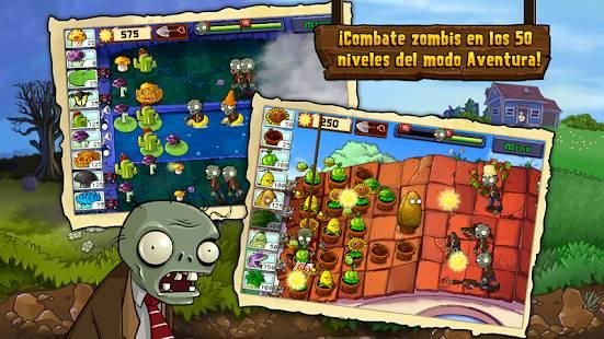 Descarga Plants vs Zombies MOD APK con Dinero/Soles Infinitos para Android Gratis 2