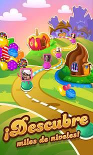 Descarga Candy Crush Saga MOD APK con Vidas Infinitas para Android Gratis 4