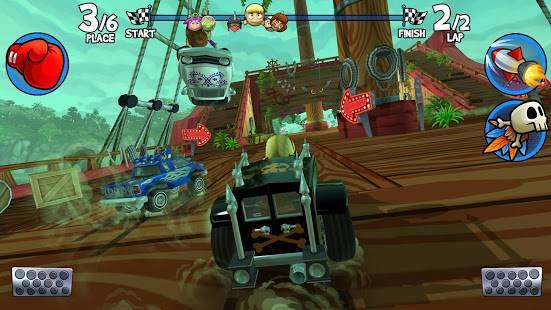 Descarga Beach Buggy Racing 2 MOD APK con Dinero Infinito para Android Gratis 4