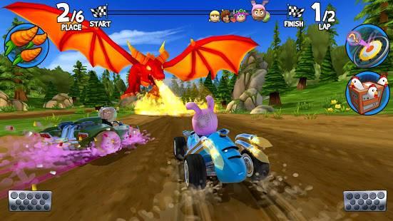 Descarga Beach Buggy Racing 2 MOD APK con Dinero Infinito para Android Gratis 6