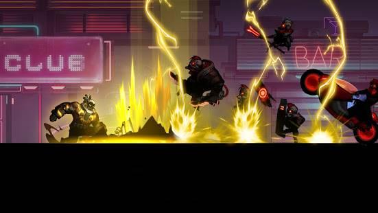 Descarga Cyber Fighters MOD APK con Oro, Almas y Estamina Infinitos Gratis para Android 4