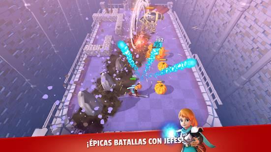 Descarga Dashero Sword & Magic con gemas Infinitas (Roguelite Offline) para Android Gratis 2