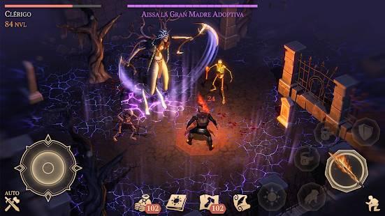 Descarga Grim Soul Dark Fantasy Survival MOD APK Gratis para Android 4