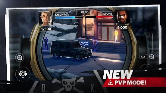 Descarga Hitman Sniper 2 World of Assassins MOD APK con  Munición Infinita para Android Gratis 3