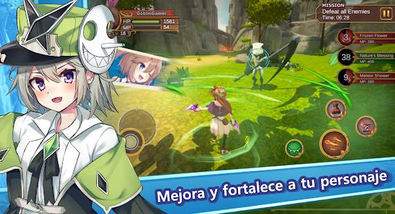Descarga Gate Of Mobius MOD APK con Modo Dios activado y Mana y Estamina Infinita para Android Gratis 2