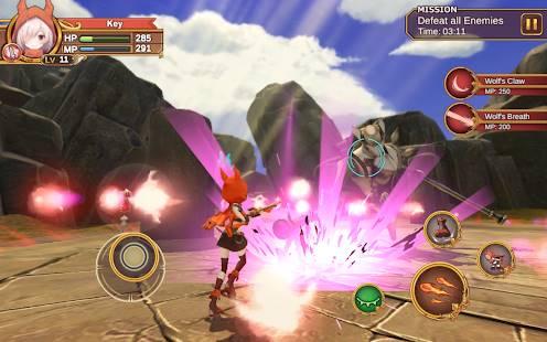 Descarga Gate Of Mobius MOD APK con Modo Dios activado y Mana y Estamina Infinita para Android Gratis 7