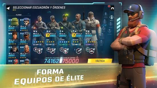 Descarga Tom Clancy's Elite Squad APK MOD con Golpe Siempre crítico Gratis para Android 7