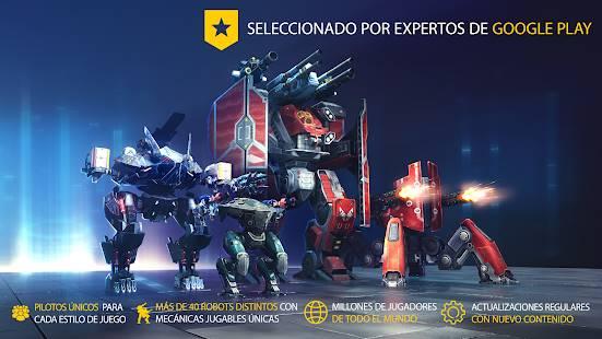 Descarga War Robots MOD APK con Ai Estúpido Gratis para Android