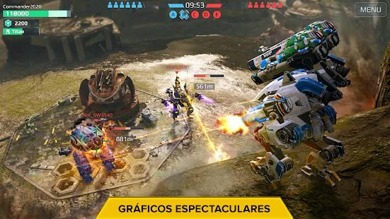 Descarga War Robots MOD APK con Ai Estúpido Gratis para Android 2
