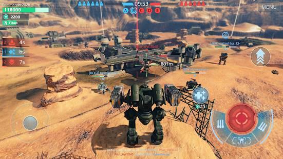 Descarga War Robots MOD APK con Ai Estúpido Gratis para Android 6
