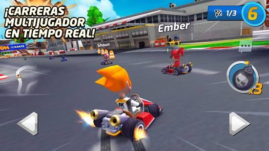 Descarga Boom Karts MOD APK con Todos Los Karts Desbloqueados para Android Gratis