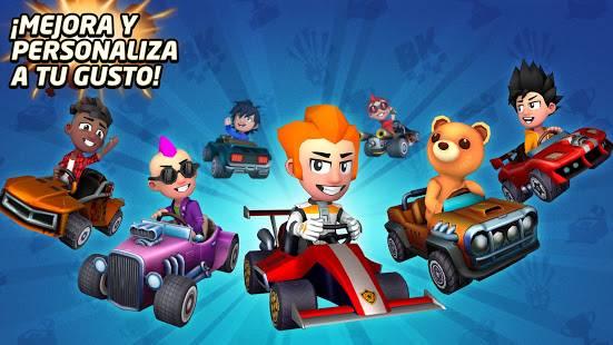 Descarga Boom Karts MOD APK con Todos Los Karts Desbloqueados para Android Gratis 3