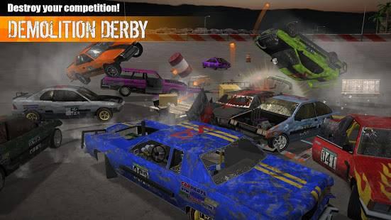 Descarga Demolition Derby 3 MOD APK con Dinero Infinito para Android Gratis 2