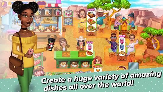 Descarga Claire's Café Tasty Cuisine MOD APK con la versión Completa Desbloqueada para Android Gratis 4