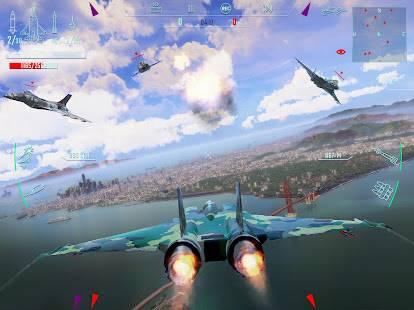 Descarga Sky Gamblers Infinite Jets APK para Android Gratis 3