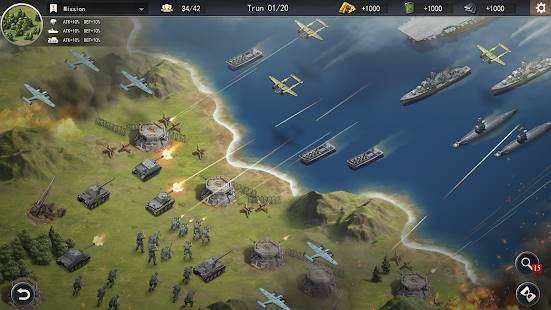 Descarga World War 2: WW2 Sandbox Tactics MOD APK con Medallas y Dinero Infinito para Android Gratis 5